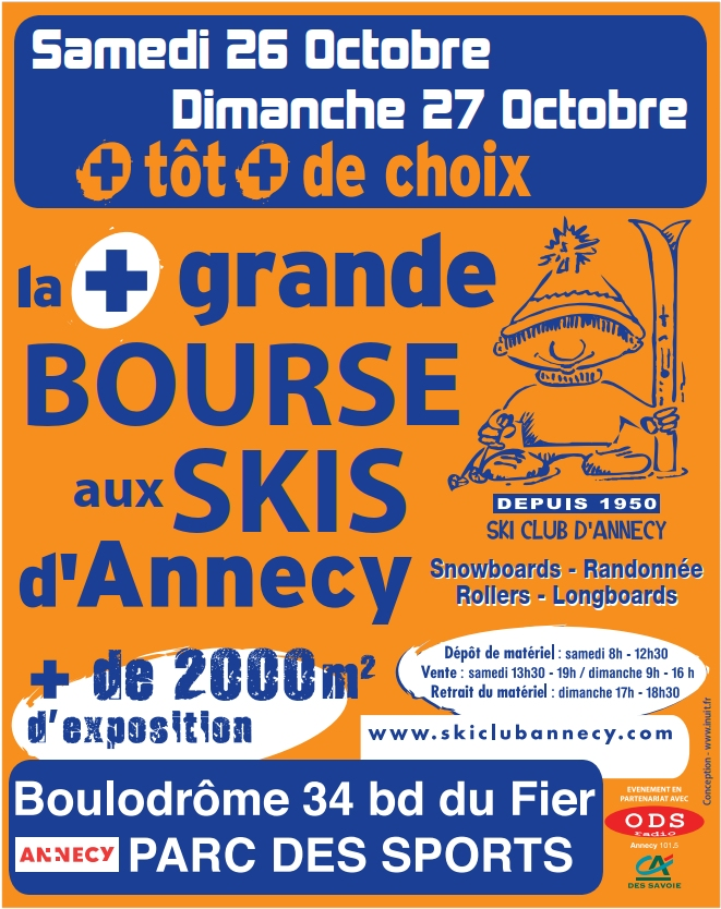 SCA Bourse aux skis 2019 flyer
